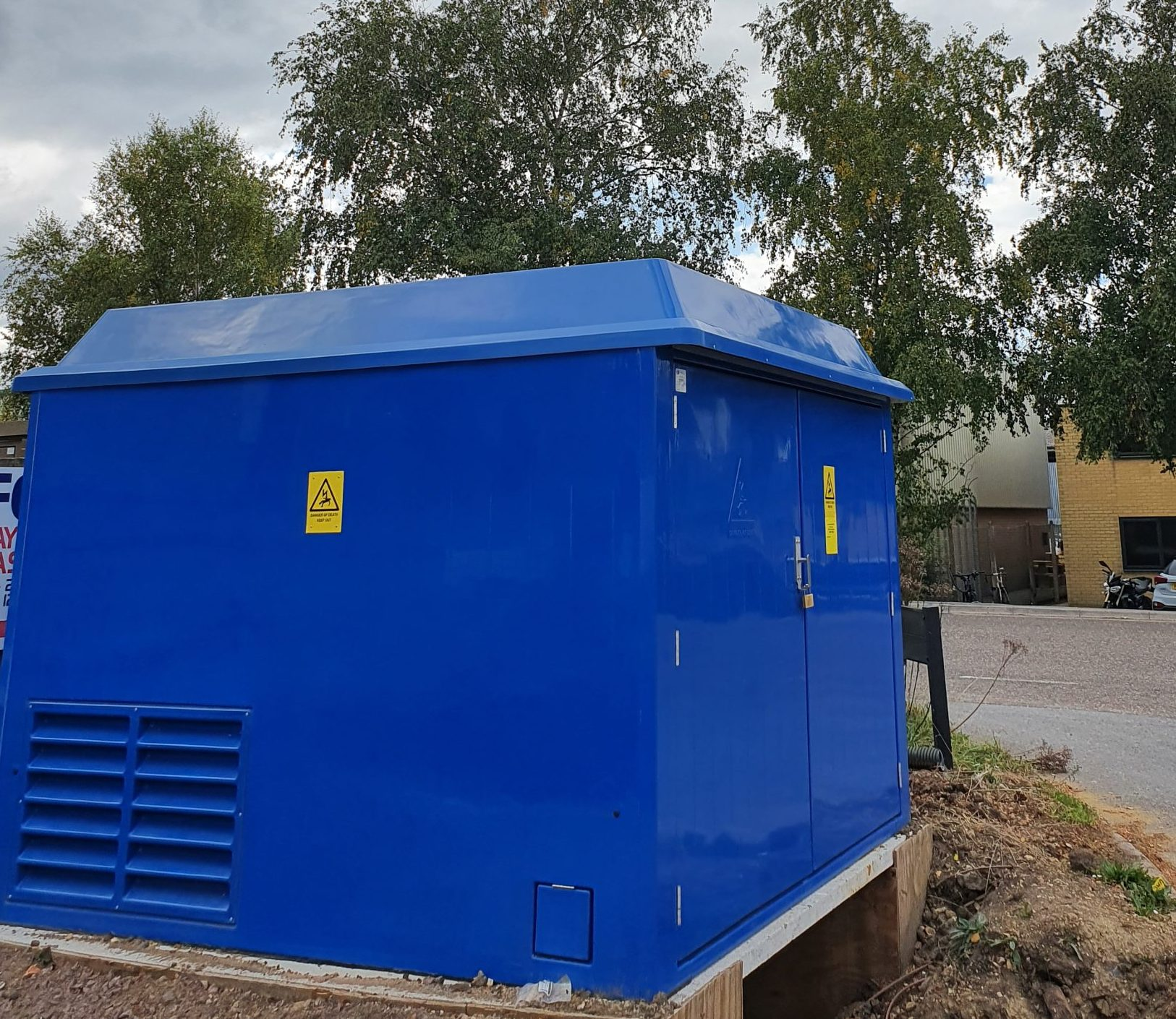 Electrical Sub Station installed specifically for our own use
